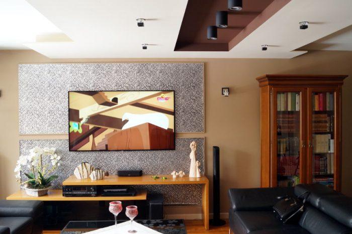 projekt salonu architektura wnętrz